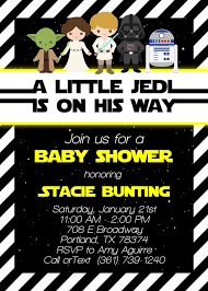 Star Wars Baby Shower Invitations - 13 best my creations images on pinterest custom invitations