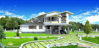 3d home landscape design 5 5 small house plan 3d home design floor modern designs plans 2