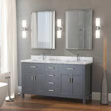 studio bathe kalize ii 63 double vanity with metal framed mirrors