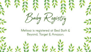 baby registry cards editable free printable baby registry cards to complement your