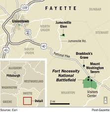 Iup Map Fort Necessity National Battlefield A Living Evolving Lab For