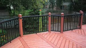 exclusive to the home depot railblazers aluminum railing