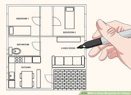 draw room how to draw blueprints for a house 9 steps with pictures