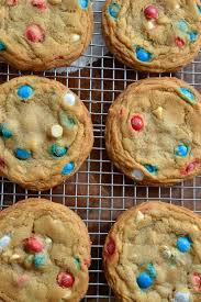 Red White And Blue Chocolate Soft Chocolate Chip Cookies Recipe Wonkywonderful