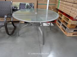Patio Round Tables Kirkland Signature 50 Inch Patio Table