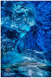 The Crystal Cave Iceland Elucidation Iceland Ted Davis Photography