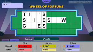 wheel of fortune powerpoint game show templates wheel of fortune