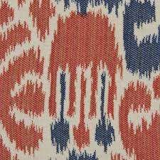 Lane Furniture Upholstery Fabric Robert Allen Sunbrella Sabina Ikat Indigo Ra 225075 Indoor