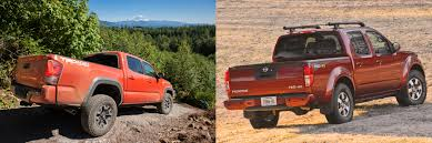 nissan frontier pro 4x head to head 2016 toyota tacoma trd off road vs 2016 nissan