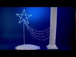 Outdoor Christmas Decorations Star by Best 25 Star Christmas Lights Ideas On Pinterest Large Outdoor