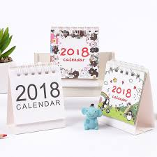 small desk calendar 2017 online shop jianwu cute cartoon mini desk calendar 2017 2018 small
