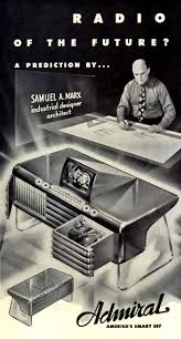 radio of the future 1942 vintage future pinterest radios