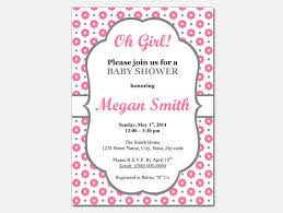 baby shower invitations for word templates party xyz