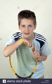 11 year boy tennis player stock photo royalty free