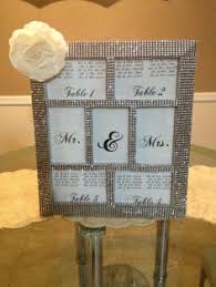 silver frames for wedding table numbers set of 10 5 x 7 frames in silver rhinestone and 10 table numbers