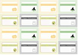 printable happy halloween gift tags u2013 festival collections