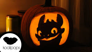 how to make toothless how to train your dragon jack o u0027 lantern