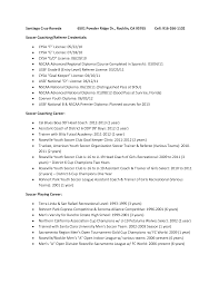 Coaching Resume Objective Examples by Coaches Resume Resume Sample And Format Finance Resume Format