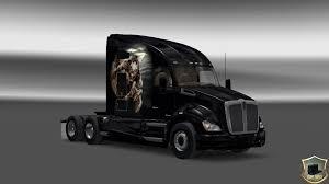 kenworth show trucks kenworth t680 himera skin mod euro truck simulator 2 mods