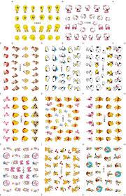 new arrival doraemon u0026 mickey cartoon nail art sticker 3d design