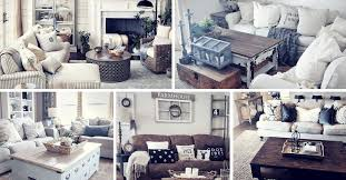Rustic Living Room Decor Top 27 Rustic Farmhouse Living Room Decor Ideas For Your Home 2018