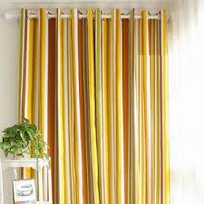 Yellow Stripe Curtains Horizontal Striped Curtains Black And White Striped Curtains