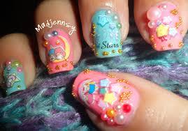 twin star nail art inspiration 40