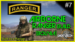 navy seal ghost mask airborne ranger build bolivia ghost recon wildlands youtube