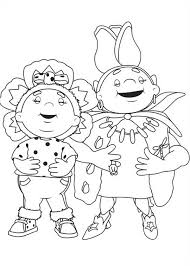 fifi flowertots character primrose coloring pages batch