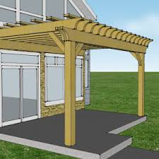 8 X 10 Pergola by Oxford Brown Eh Pergolas