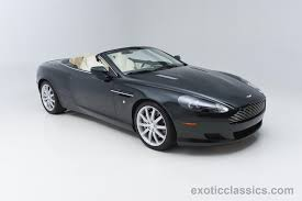 aston martin classic 2006 aston martin db9 volante exotic and classic car dealership