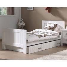chambre en pin chambre complète pour enfant en pin massif blanc laqué marin