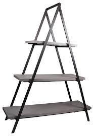 Iron And Wood Bookcase A
