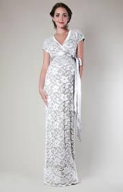 grace lace maternity dress long ivory maternity wedding