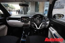 Suzuki Ignis Interior Maruti Suzuki Ignis First Drive Review News News India Today