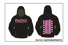 filthy motorsports off road racing hoodies special edition pink