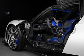 blue pagani pagani canada from pfaff automotive partners