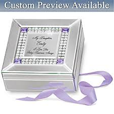 Engraved Music Box Music Box Daughter I Love You Today Tomorrow Always