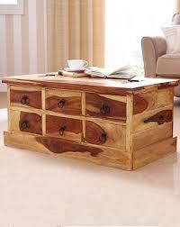 coffee tables dazzling storage coffee table blonde sheesham