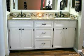 amish made bathroom cabinets built in bathroom vanity a white bathroom vanity installed in a