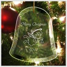 Glass Bell Christmas Ornaments - glass bell christmas ornament glass bell christmas ornament