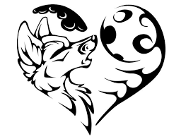 21 best moon and heart tattoo drawings images on pinterest