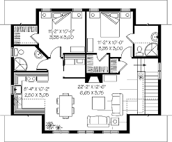 Two Story Garage Plans With Apartments Two Bedroom Floor Plan Fascinating 19 Three Story Condo S Type Two