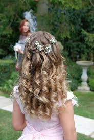 flower girl hairstyles uk 27 best pretty bridesmaids hairstyles images on pinterest