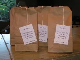 tea bag party favors brown bag lunch party tea bag party favors for each kid brown