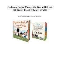chagne gift set pdf ordinary change the world gift set ordinary pe