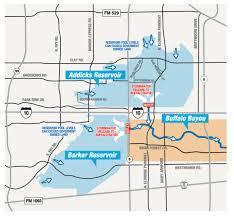 Harris County Flood Map Water Rising Into Neighborhoods In Katy Area Near Addicks And