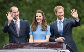 Prince William And Kate Kate Middleton Prince William And Prince Harry Ride Together In