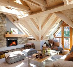 cozy mountain cottage the aran valley spain interior decor cozy mountain home with stone fireplace