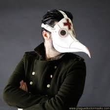 leather mask white plague doctor leather mask for sale online usa uk europe